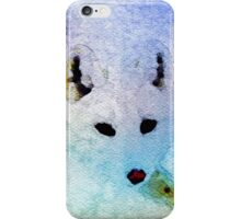 Fabulous Foxes:  Arctic Ghost iPhone Case/Skin