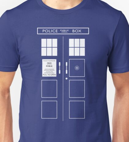 The TARDIS Unisex T-Shirt