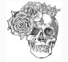 Skull & Roses Kids Clothes