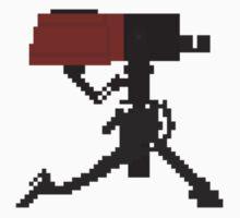 Sentry Gun (Level 1) Pixel Art by AlizarinGaming