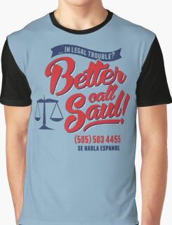 -BREAKING BAD- Better Call Saul Graphic T-Shirt