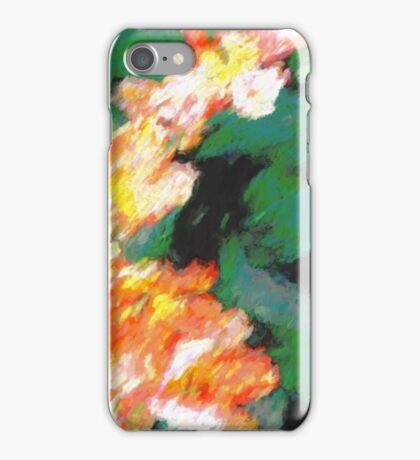 Bright Springtime Tulips iPhone Case/Skin