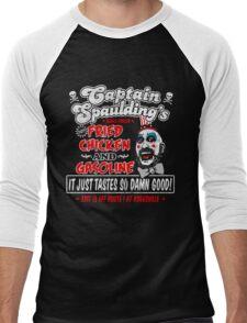 Captain Spaulding Fried Chicken & Gasoline Men's Baseball ¾ T-Shirt