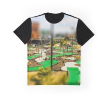 Putt Putt Golf Course by Monique Ortman Graphic T-Shirt