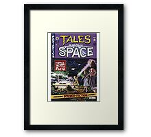 Back to the Future Tales from Space comic cover Framed Print