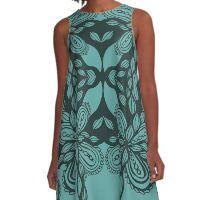 ink design A-Line Dress