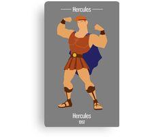 Hercules Illustration Canvas Print
