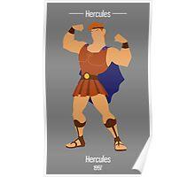 Hercules Illustration Poster