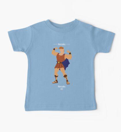 Hercules Illustration Baby Tee