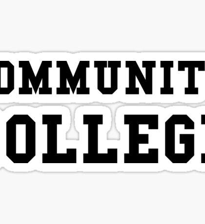 Community College Sticker