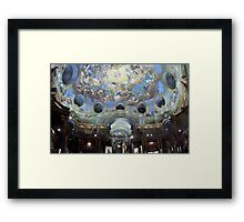Angelic Library (Austrian National Library) Framed Print