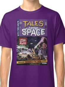 Back to the Future Tales from Space comic cover Classic T-Shirt