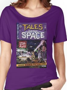 Back to the Future Tales from Space comic cover Women's Relaxed Fit T-Shirt