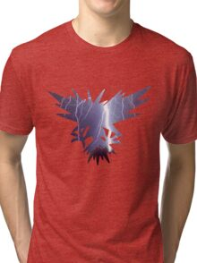 Zapdos used thunder Tri-blend T-Shirt