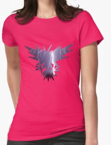 Zapdos used thunder Womens Fitted T-Shirt