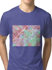 Soft Tapestry - Abstract Fractal Artwork Tri-blend T-Shirt