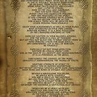 "Desiderata ""desired things"" on parchment by Irisangel"