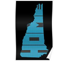 New Hampshire HOME state design Poster