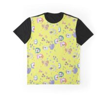 yellow pansy Graphic T-Shirt