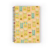 Tiki Emojis by Naoma Serna Spiral Notebook