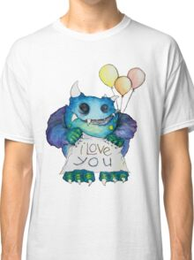 I Love You Monster Classic T-Shirt