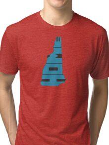 New Hampshire HOME state design Tri-blend T-Shirt