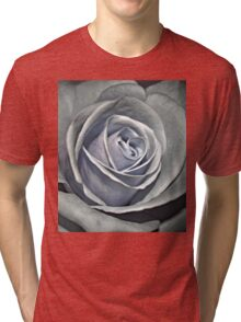 Baby Blue Rose Tri-blend T-Shirt