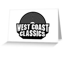 -GEEK- GTA West Coast Classic Greeting Card