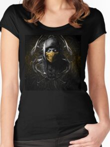 Mortal Kombat X Women's Fitted Scoop T-Shirt