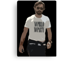 NO PIRLO NO PARTY Canvas Print