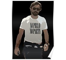 NO PIRLO NO PARTY Poster