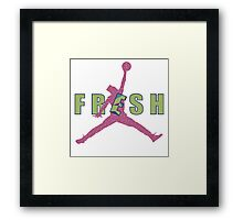 Fresh Prince Jumpman Framed Print