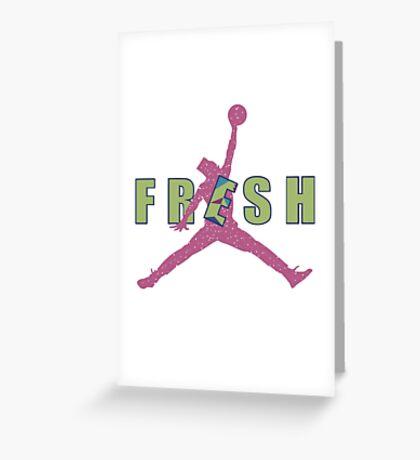 Fresh Prince Jumpman Greeting Card