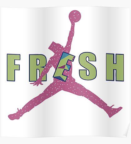 Fresh Prince Jumpman Poster