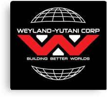 Weyland Yutani - Red Logo Canvas Print