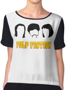 -TARANTINO- Pulp Fiction Characters Chiffon Top