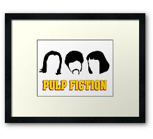 -TARANTINO- Pulp Fiction Characters Framed Print