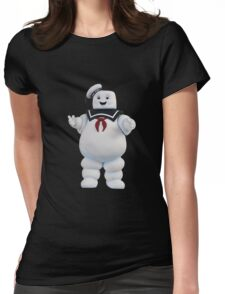 Ghostbusters Stay Puft Marshmellow Man Womens Fitted T-Shirt