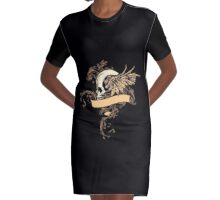 Fly Graphic T-Shirt Dress