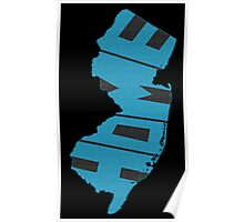 New Jersey HOME state design Poster