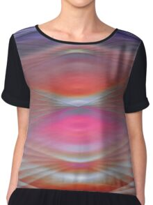 Abstract Colors 3 Chiffon Top