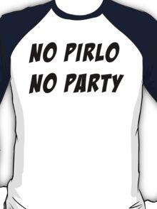 NO PIRLO NO PARTY - 3 T-Shirt