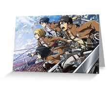 Attack On Titan 06 Greeting Card