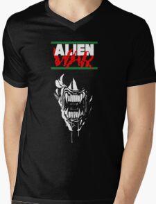 Alien War Mens V-Neck T-Shirt