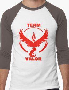 Team Valor - Pokemon Go Men's Baseball ¾ T-Shirt