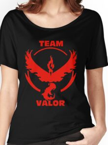 Team Valor - Pokemon Go Women's Relaxed Fit T-Shirt