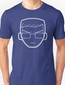 BertFace (white) Unisex T-Shirt