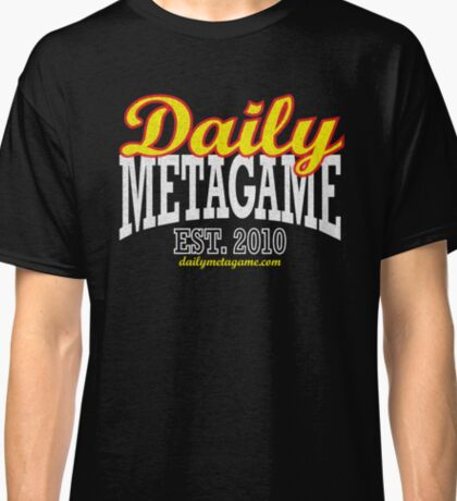 Daily Metagame Sport Red Stroke Classic T-Shirt