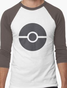 Pokéball minimalist Men's Baseball ¾ T-Shirt