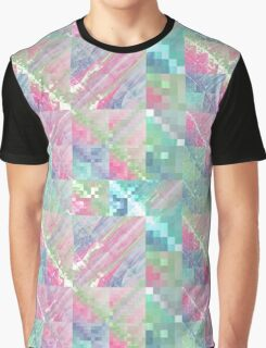 Pastel Tile - Abstract Fractal Artwork Graphic T-Shirt